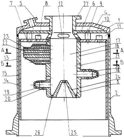 Схема газогенератора [16]