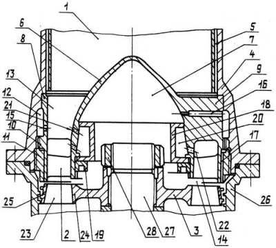 Схема газотурбинного привода